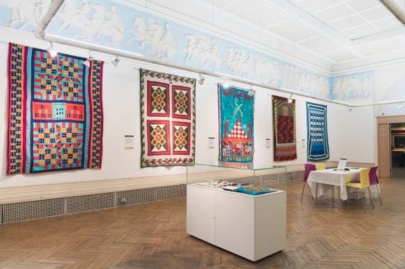 Katab Quilting Stories - Blackburn Museum - British Textile Biennial - 04-10-19 - Richard Tymon-1