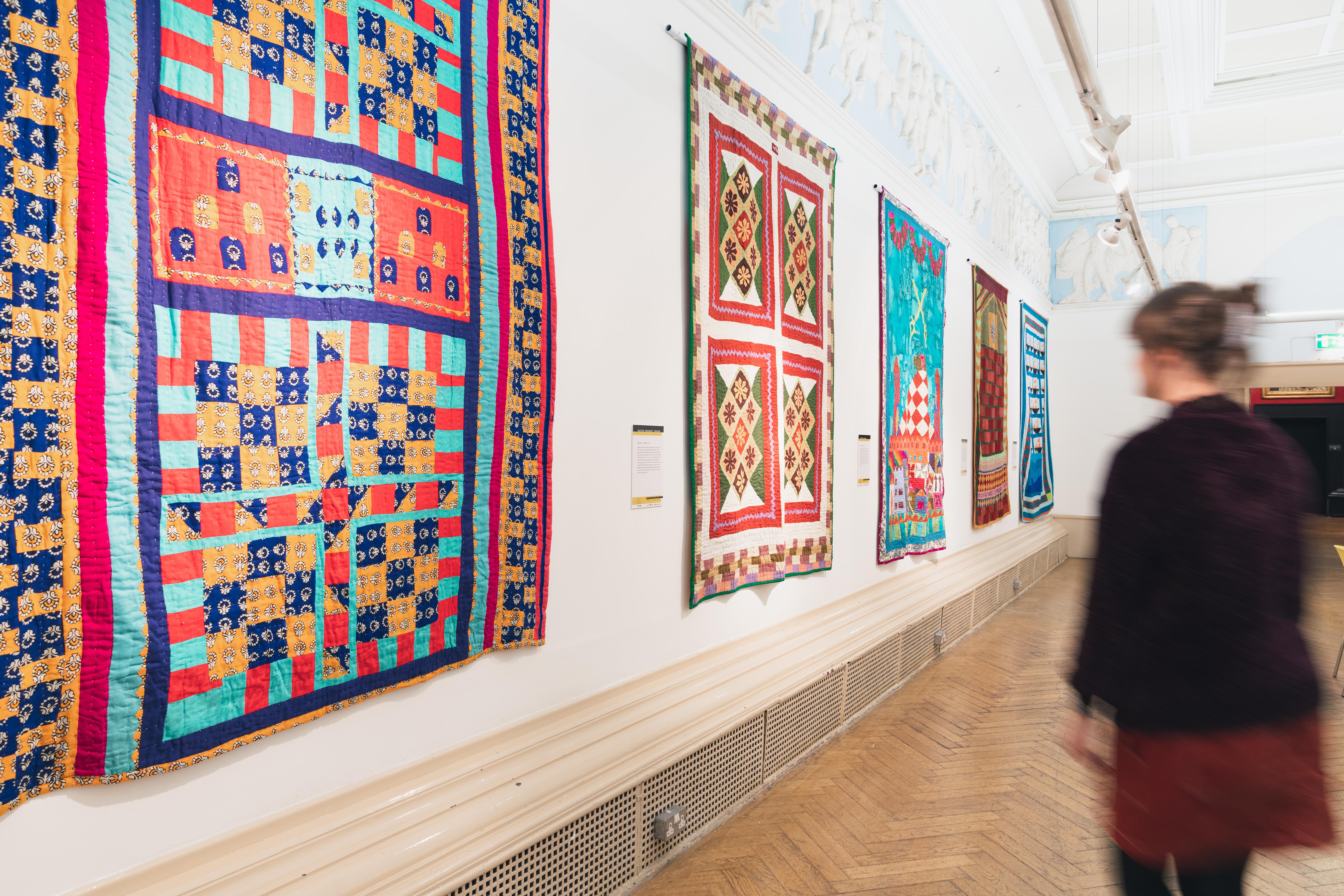Katab Quilting Stories - Blackburn Museum - British Textile Biennial - 04-10-19 - Richard Tymon-5
