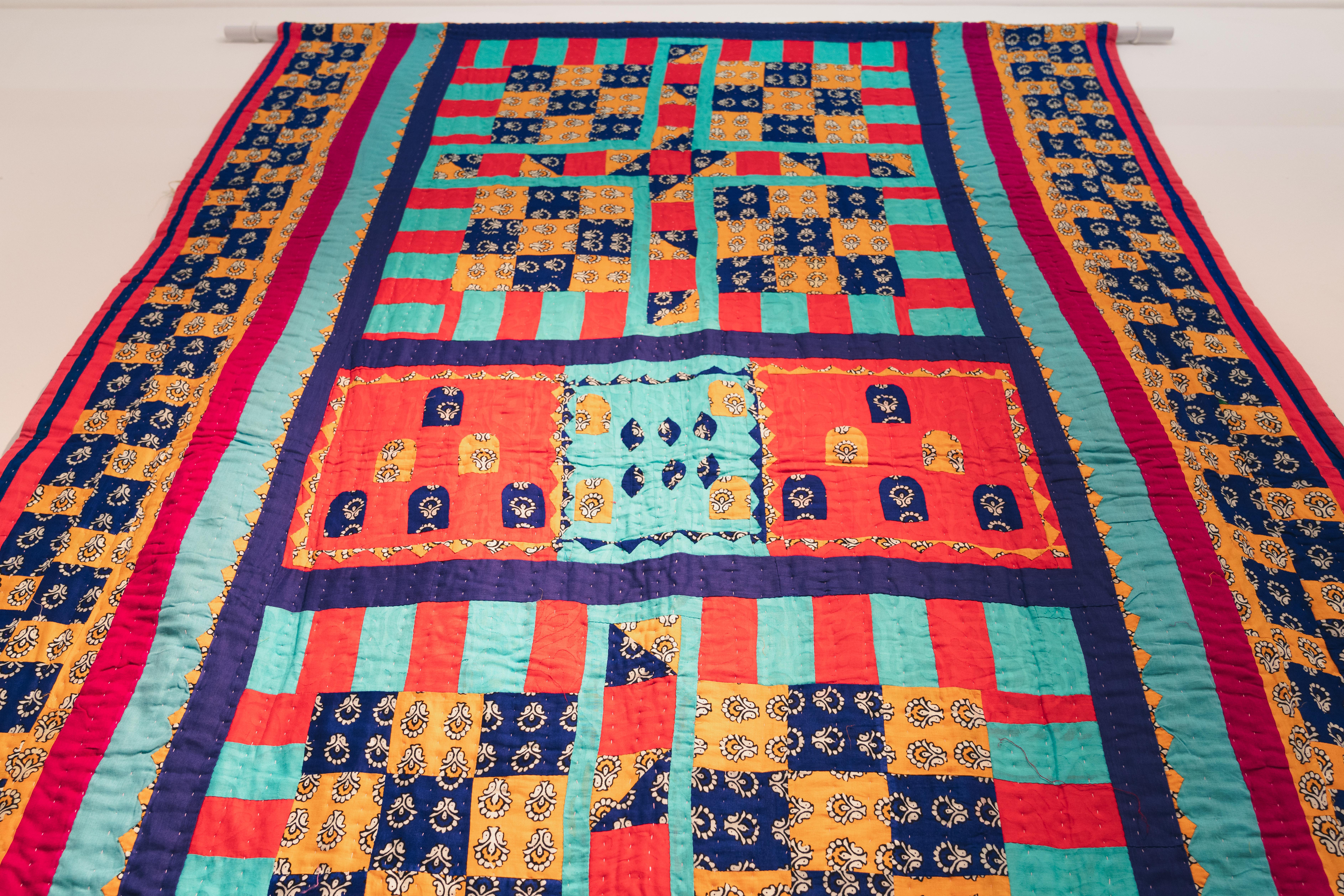 Katab Quilting Stories - Blackburn Museum - British Textile Biennial - 04-10-19 - Richard Tymon-14