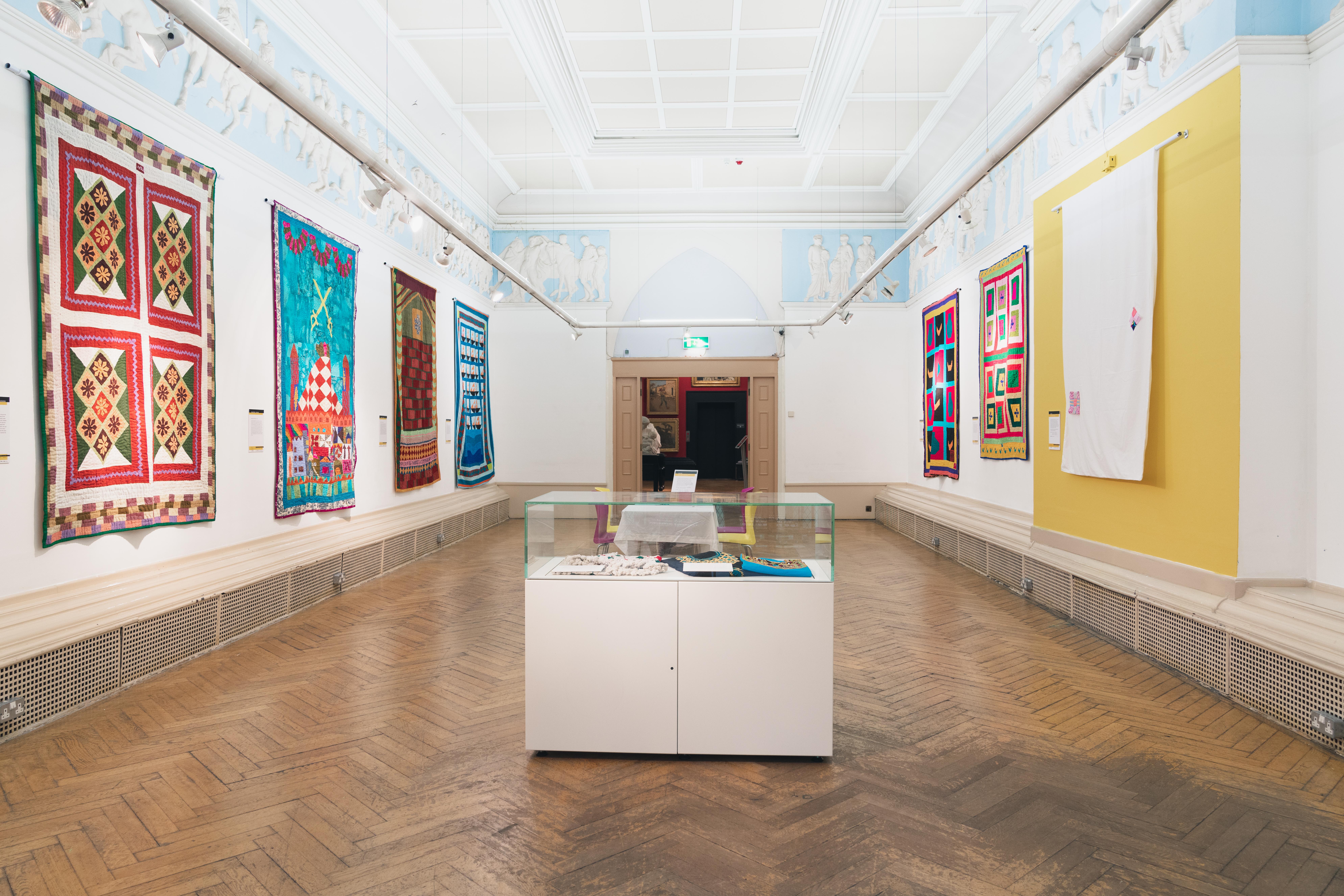Katab Quilting Stories - Blackburn Museum - British Textile Biennial - 04-10-19 - Richard Tymon-2