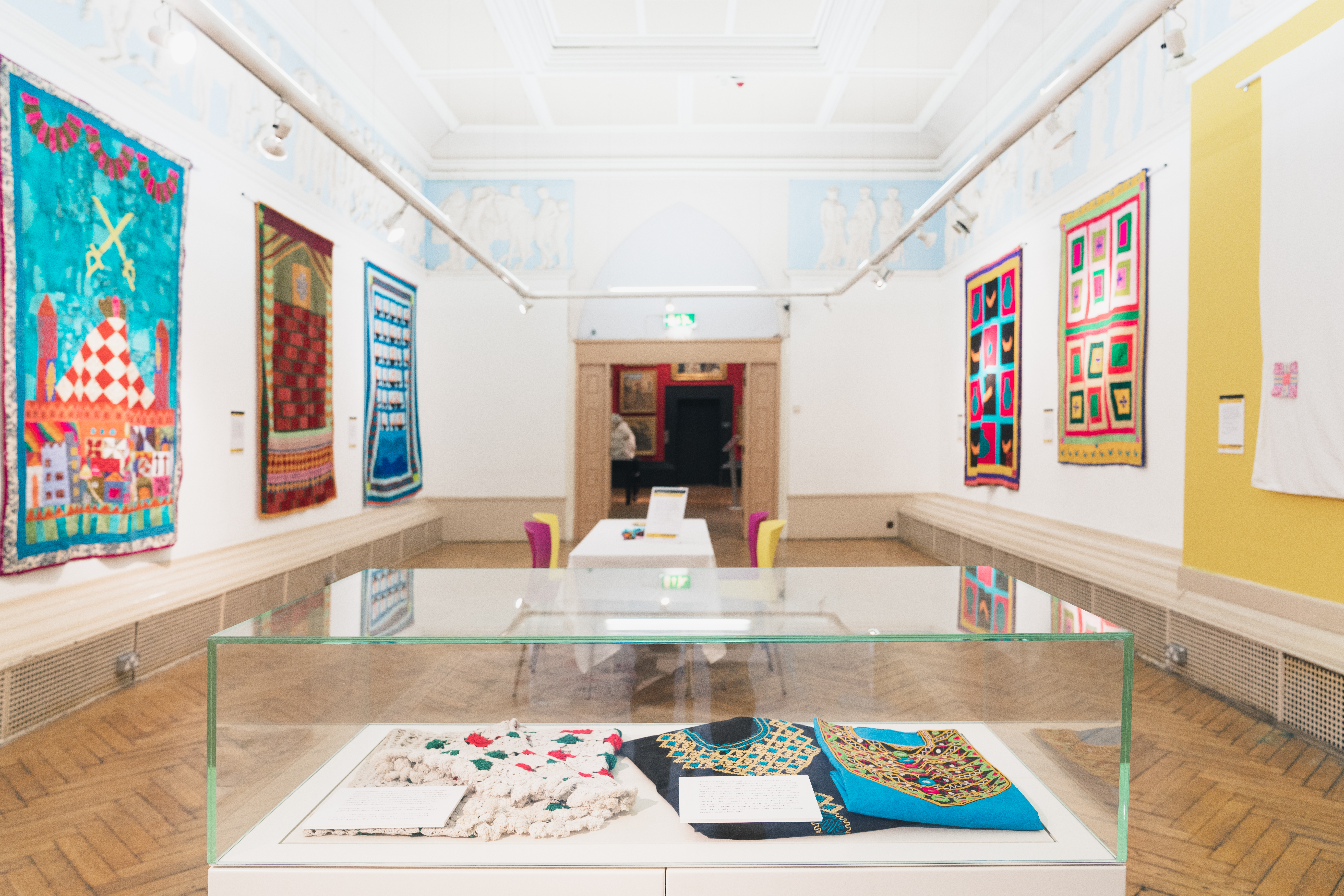 Katab Quilting Stories - Blackburn Museum - British Textile Biennial - 04-10-19 - Richard Tymon-3