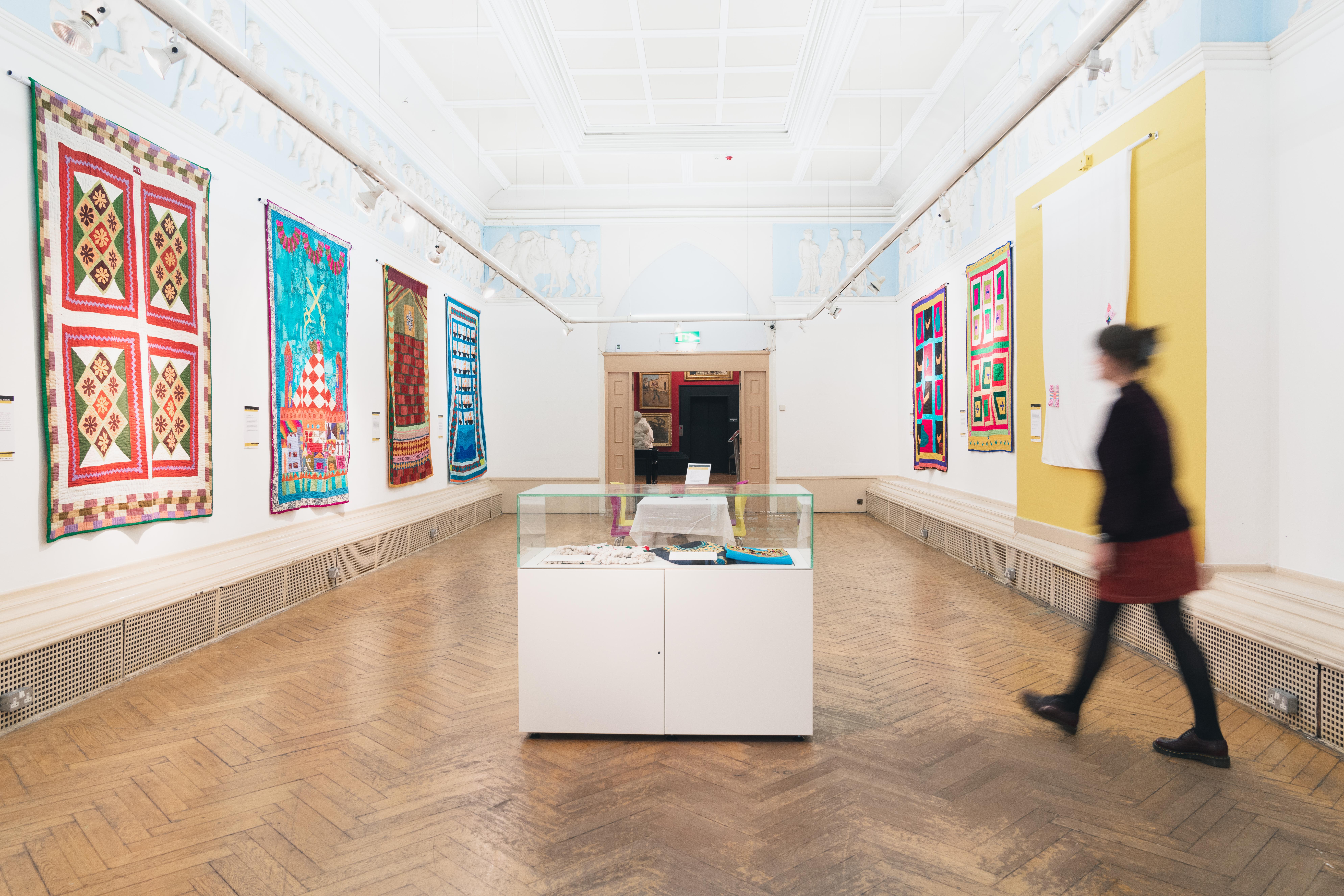 Katab Quilting Stories - Blackburn Museum - British Textile Biennial - 04-10-19 - Richard Tymon-4
